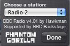 Phantomgorilla.com BBC radio widget